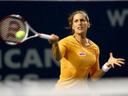 Andrea Petkovic war in New Haven gegen Dominika Cibulkova erfolgreich