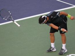 Tennisprofi Fognini: Schubser, Mittelfinger, Geldstrafe