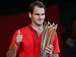 Federer l�sst auch Simon abblitzen