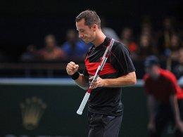 Kohlschreiber erspielt sich Duell mit Djokovic