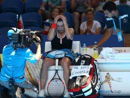 Federer im Halbfinale - auch Cornet ist
