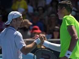 Ratespiel mit Raonic: Becker raus - Djokovic marschiert