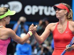 Sharapova gewinnt Glamourduell - Murray souver�n