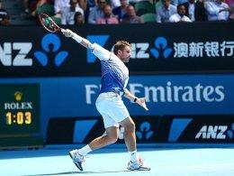 Revanche f�r 2014? Djokovic gegen Wawrinka im Halbfinale