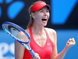 Maria gegen Serena: Traumfinale bei den Frauen