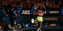 Sie triumphierte zum sechsten Mal in Melbourne: Serena Williams.