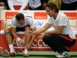 Carsten Arriens (r.) und Philipp Kohlschreiber