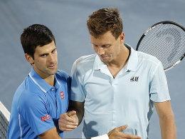 Djokovic folgt Federer ins Finale
