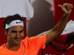 Federer besiegt Djokovic - Nadal muss warten