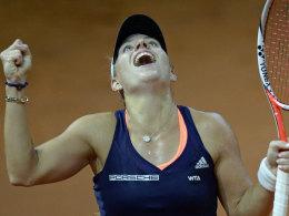 Kerber steht im Heim-Finale! Wozniacki wartet