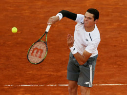 Raonic sagt French-Open-Teilnahme ab