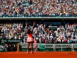Mit Urgewalt zum Titel: Serena Williams.