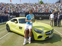 Nadal holt sich den Titel in Stuttgart