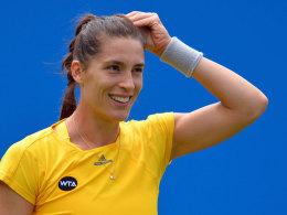 Petkovic auf Kurs - Im Viertelfinale wartet Wozniacki