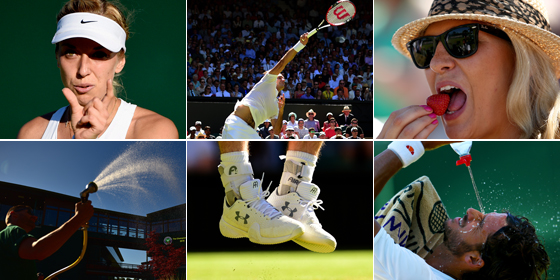 Die ersten �berraschungen in Wimbledon 2015