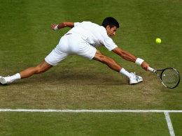 Federer und Djokovic ohne M�he - Wawrinka raus