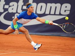 Nadal bei�t - Kohlschreiber und Zverev raus