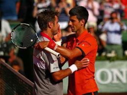 Djokovics souver�ne Revanche - Serena schl�gt Ivanovic