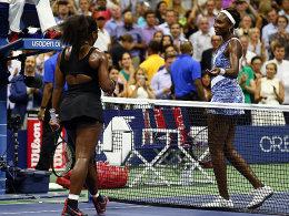 Serena schlägt Venus - Cilic trifft auf Djokovic
