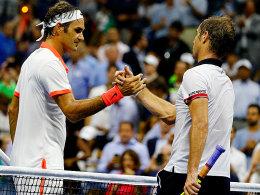 Schweizer Festtage in New York: Halbfinale Federer vs. Wawrinka