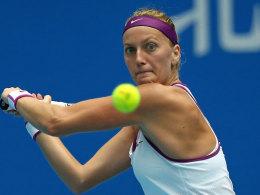 Kvitova beim Finale in Singapur dabei