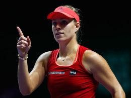 Perfekter Start! Kerber bleibt gegen Kvitova cool