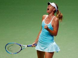 Sharapova dominiert Halep - Kohlschreiber weiter