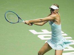 Sharapova und Radwanska durch - Pennettas Abtritt