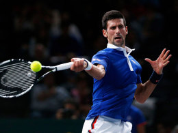 Federer raus - Arbeitssieg f�r Djokovic