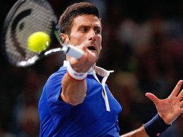Djokovic und Wawrinka mit starken Nerven