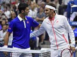 ATP-Finals: Djokovic trifft auf Federer