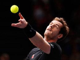 Auftaktsieg f�r Murray - Nadal bezwingt Wawrinka