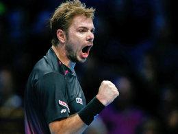 Wawrinka sticht Murray aus - Federer wartet