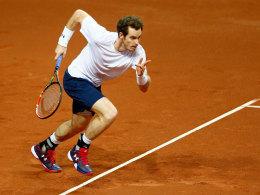 Murray und das Duell mit ganz Belgien
