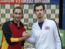 Goffin er�ffnet - Bemelmans fordert Murray
