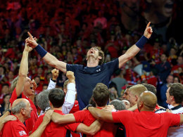 Murray macht's! Davis Cup geht an Gro�britannien