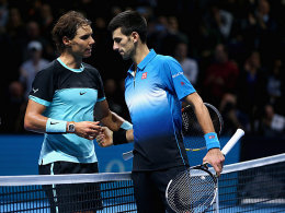 Rafael Nadal und Novak Djokovic