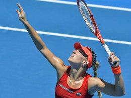 Am höchsten eingestufte deutsche Spielerin in Melbourne: Angelique Kerber.