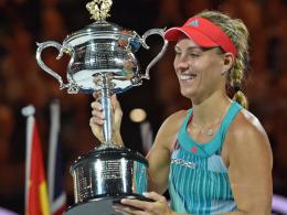 Traum erf�llt: Erster Grand-Slam-Titel f�r Kerber