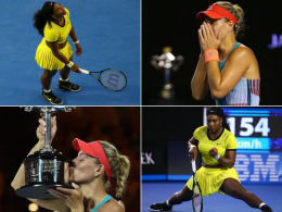 Serena Williams und Angelique Kerber