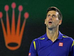 König von Melbourne: Novak Djokovic besiegte im Finale Andy Murray in drei Sätzen.
