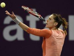 Petkovic gibt auf - Wawrinka gewinnt Dubai