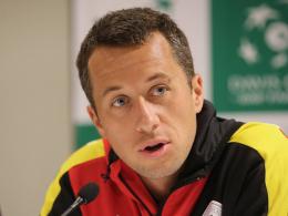 Philipp Kohlschreiber eröffnet die Davis-Cup-Partie am Freitag gegen Lukas Rosol.