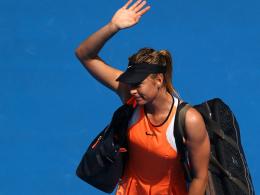 Maria Sharapova bei den Australian Open 2016.