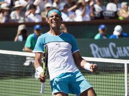 In 93 Minuten! Nadal zieht ins Halbfinale ein