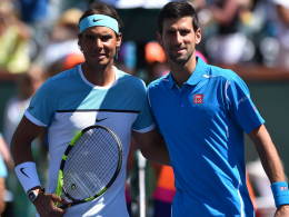 Heißes Halbfinale, klare Sache: Novak Djokovic schlägt Rafael Nadal.