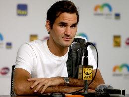 Federers erste OP: Es passierte im Bad