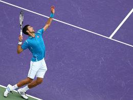 Djokovic besiegt Nishikori und �berholt Becker