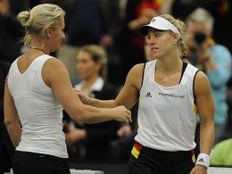 Das b�se A-Wort: Tennis-Damen vor schwerer Pr�fung