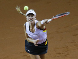 Angelique Kerber beim Match gegen Simona Halep